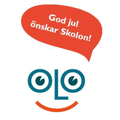 God jul önskar Skolon